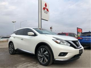 Used 2015 Nissan Murano Platinum AWD CVT for sale in London, ON