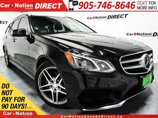 Used 2016 Mercedes-Benz E-Class 400 4MATIC Wagon| RARE| DUAL SUNROOF| NAVI| for sale in Burlington, ON