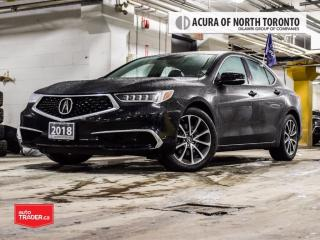 Used 2018 Acura TLX 3.5L SH-AWD Accident Free| Bluetooth| Back-UP Cam for sale in Thornhill, ON
