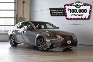 Used 2016 Lexus IS 350 Sport - AWD, Heated Seats, Back Up Cam, Sunroof for sale in London, ON