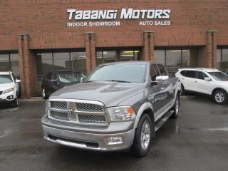 Used 2010 Dodge Ram 1500 LARAMIE | NAVIGATION | LEATHER | SUNROOF | CREW for sale in Mississauga, ON