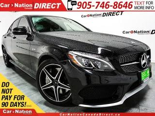 Used 2017 Mercedes-Benz C-Class C43 AMG 4MATIC  NAVI  DUAL SUNROOF  for sale in Burlington, ON