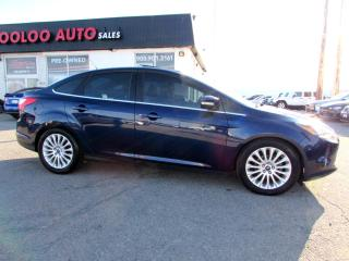 Used 2012 Ford Focus Titanium Navigation Certified 2YR Warranty for sale in Milton, ON