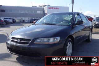 Used 1999 Honda Accord LX |AS-IS SUPERSAVER| for sale in Scarborough, ON