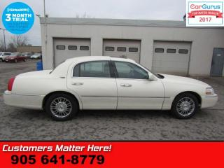 Used 2007 Lincoln Town Car Signature Limited  (NEW TIRES) 4.6L LEATHER ROOF HEATED SEATS MEMORY for sale in St Catharines, ON