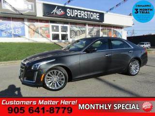Used 2014 Cadillac CTS Luxury  AWD (NEW TIRES) NAV CUE ROOF CAM BS LD CW  PARK-SENS for sale in St Catharines, ON