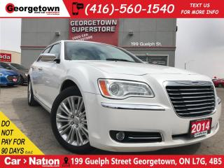 Used 2014 Chrysler 300C CLEAN CARPROOF| LEATHER|NAVI | PANOROOF |B/U CAM for sale in Georgetown, ON