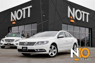 Used 2014 Volkswagen Passat CC 2.0T Heated Leather Sunroof Ba for sale in Winnipeg, MB