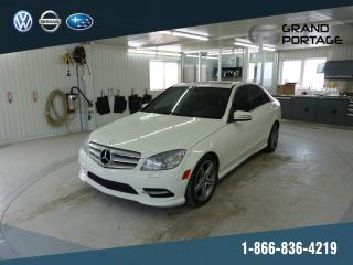 Used 2011 Mercedes-Benz C 300 C 300 berline 4 portes 4MATIC + Cuir + T for sale in Riviere-du-loup, QC