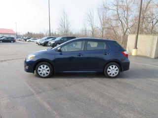 Used 2013 Toyota MATRIX L FWD for sale in Cayuga, ON