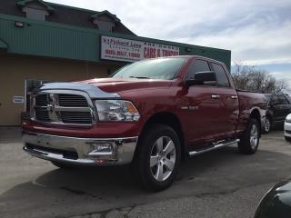 Used 2010 Dodge Ram 1500 SLT/Sport/TRX SLT! QUAD CAB! 4x4! JUST ARRIVED! CALL FOR DETAILS! for sale in Bolton, ON