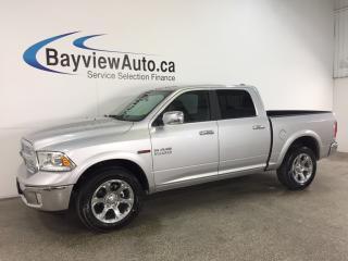Used 2017 Dodge Ram 1500 Laramie - ECODIESEL! REM STRT! SUNOOF! HTD LTHR! NAV! ALPINE! PWR PEDALS! for sale in Belleville, ON