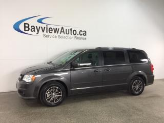 Used 2017 Dodge Grand Caravan CVP/SXT - ALLOYS! 3 ZONE CLIMATE! NAV! PWR DOORS! UCONNECT! for sale in Belleville, ON