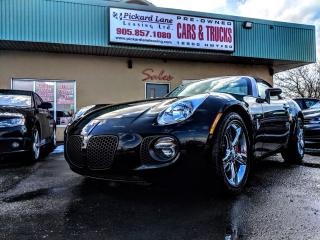 Used 2009 Pontiac Solstice GXP CONVERTIBLE!! LEATHER!! 2 PASSENGER!! for sale in Bolton, ON