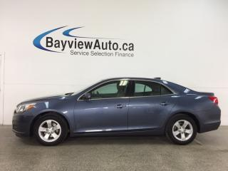 Used 2015 Chevrolet Malibu LS - ALLOYS! ECO MODE! A/C! ON STAR! CRUISE! for sale in Belleville, ON