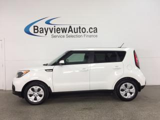 Used 2018 Kia Soul LX - AUTO! A/C! BLUETOOTH! CRUISE! PWR GROUP! for sale in Belleville, ON