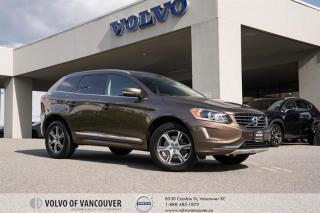 Used 2015 Volvo XC60 T6 AWD A Premier Plus CLIMATE - BLIND SPOT MONITOR for sale in Vancouver, BC