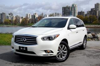 Used 2015 Infiniti QX60 AWD One owner! Local Vancouver *SUV*! 7 Passenger All Wheel Drive! for sale in Vancouver, BC