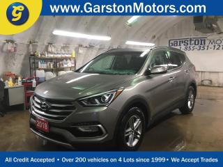 Used 2018 Hyundai Santa Fe PREMIUM*AWD*HEATED STEERING WHEEL*BACK UP CAMERA*HEATED SEATS FRONT AND REAR*ALLOYS*BLIND SPOT MONITORING*POWER DRIVER SEAT* for sale in Cambridge, ON