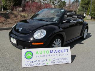 Used 2009 Volkswagen Beetle AUTO, LOAD, INSP, WARRANTY, FINANCE for sale in Surrey, BC
