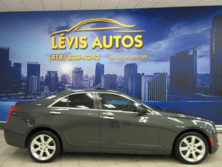 Used 2015 Cadillac ATS 4 AWD 2.0 LITRES TURBO CUIR TOIT OUVRANT for sale in Lévis, QC