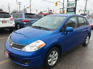 Used 2008 Nissan Versa Low Km l Alloy Wheels l Remote Starter for sale in Waterloo, ON