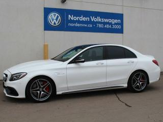 Used 2015 Mercedes-Benz AMG C C63S AMG for sale in Edmonton, AB
