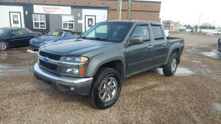 Used 2010 Chevrolet Colorado LT2 Crew Cab 4WD for sale in Stettler, AB