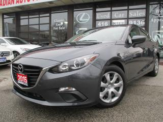 Used 2015 Mazda MAZDA3 GX-BLUETOOTH-SKY-PUSH START-ALL POWER OPTIONS for sale in Scarborough, ON
