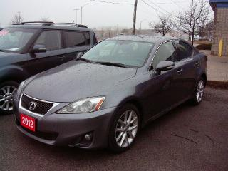 Used 2012 Lexus IS 250 for sale in Georgetown, ON
