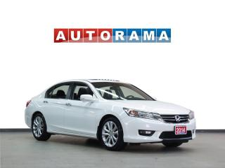 Used 2014 Honda Accord TOURING PKG NAVIGATION LEATHER SUNROOF BACKUP CAM for sale in North York, ON