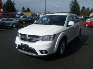 Used 2014 Dodge Journey SXT for sale in Parksville, BC