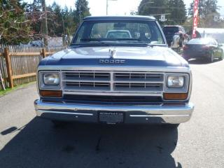 Used 1987 Dodge Ram 1500 D for sale in Parksville, BC