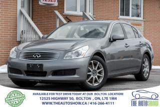 Used 2007 Infiniti G35X TECH AWD NAVIGATION LUXURY for sale in Caledon, ON