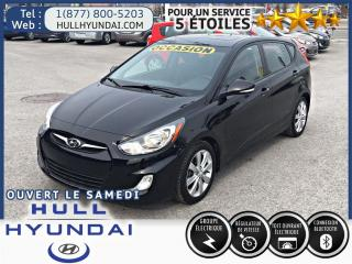 Used 2014 Hyundai Accent Gls, Toit, Bancs Ch for sale in Gatineau, QC