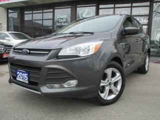 Used 2015 Ford Escape SE-BACK UP CAMERA-BLUETOOTH-HEATED-ACCIDENT FREE for sale in Scarborough, ON