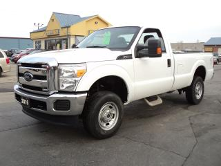 Used 2016 Ford F-250 XL RegCab 4X4 8ft Box 6.2L for sale in Brantford, ON