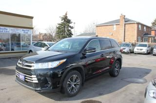 Used 2017 Toyota Highlander LE AWD 8 Passenger for sale in Brampton, ON