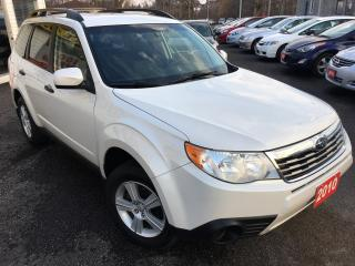 Used 2010 Subaru Forester X sport/AUTO/AWD/ALLOYS/BLUETOOTH/LOADED! for sale in Scarborough, ON