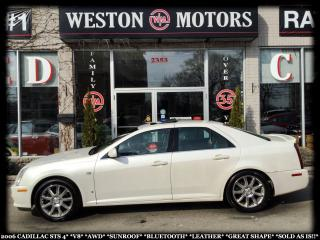 Used 2006 Cadillac STS STS 4*V8*AWD*SUNROOF*BTOOTH*LEATHER*SOLD AS IS!!* for sale in York, ON