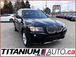 Used 2014 BMW X3 xDrive+360 Camera+GPS+Pano Roof+Park Sensors F & R for sale in London, ON