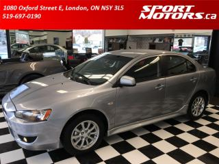 Used 2010 Mitsubishi Lancer SE! Heated Seats! New Brakes! A/C! Rust Module! for sale in London, ON