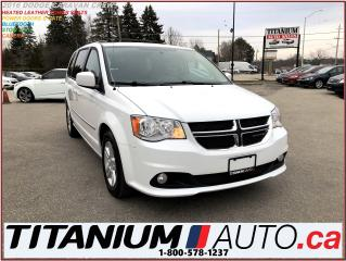 Used 2016 Dodge Grand Caravan Crew Plus+Camera+Leather+Stow N Go+Power Doors & G for sale in London, ON