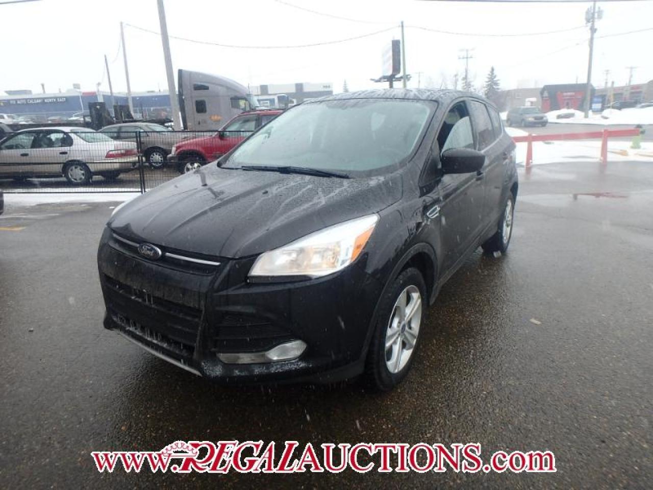Photo of Black 2014 Ford ESCAPE SE 4D UTILITY 4WD