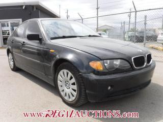 Used 2004 BMW 3 SERIES 320I 4D SEDAN for sale in Calgary, AB