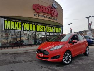 Used 2014 Ford Fiesta SE NAVI P-ROOF ALLOYS BLUEOOTH H-TED SEATS for sale in Scarborough, ON