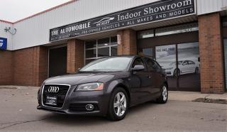 Used 2011 Audi A3 2.0T Premium S-LINE QUATTRO NAVI NO ACCIDENT for sale in Mississauga, ON