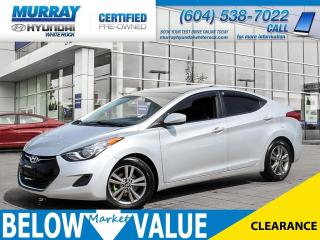 Used 2013 Hyundai Elantra GL**LEATHER**HEATED SEATS**NEW TIRES** for sale in Surrey, BC