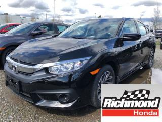 New 2018 Honda Civic SE for sale in Richmond, BC