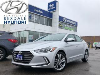 Used 2018 Hyundai Elantra GLS - AUTO A/C PWLM & ONLY 16590KM for sale in Etobicoke, ON